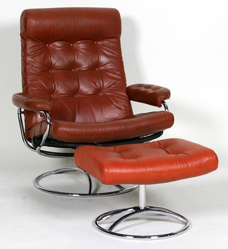 Stressless Recliner with Ottoman ($358.40)