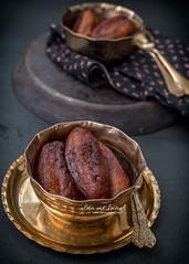 Stuffed and deep fried sweet potato dumplings (rangalur-puli-pithe) (color and spices) Tags: pithe poush parbon sankranti makar bengalicuisine dessert sweet potato jaggery rangalur puli