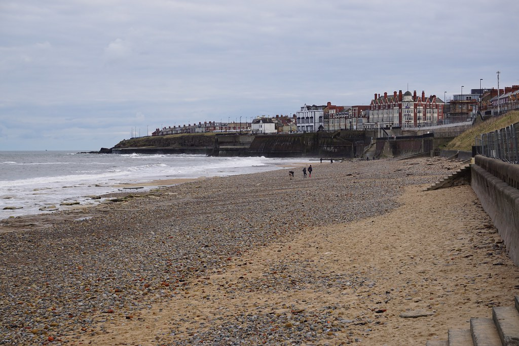 Whitley Bay beach, North Tyneside