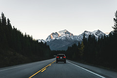 Road Trip (eric.vanryswyk) Tags: road trip highway freeway rocky mountains rockies alberta britis columbia canada lake louise banff jasper sky forest fall autumn drive nikon d610 nikkor 2870mm f28