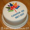 Canada 150 Cake