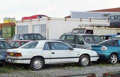 1989 Chrysler LeBaron Coupe Turbo (peterolthof) Tags: hoogkerk peterolthof xs40lv lebaron chrysler