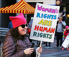 Women's Rights Are Human Rights (sea turtle) Tags: humanrights womensrights seattle march women womxn woman womensmarch womxnsmarch seattlewomensmarch seattlewomxnsmarch protest demonstration politics political 4thavenue civilrights equalrights justice equality love fairness lovetrumpshate hillaryclinton donaldtrump liberty sign crowd city downtown