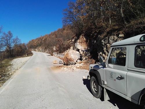 Strada Norcia Castellccio (PG)