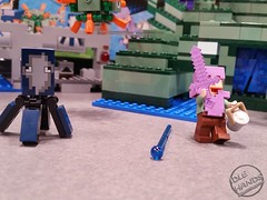 Toy Fair 2017 LEGO Minecraft 35 (IdleHandsBlog) Tags: minecraft toys videogames lego constructionsets toyfair2017