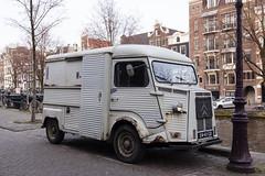 Citroen HB2AS 1600 - 1975 (PhotompNL) Tags: amsterdam canoneos5dmarkii nederland citroen hy hb2as 1975 classic car oldtimer van busje prinsengracht canon eos 5dmkii paysbas netherlands niederlande