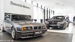 BMW Serii 5 -  przekrój pokoleniowy w Bawaria Motors Gdańsk old pic-07199