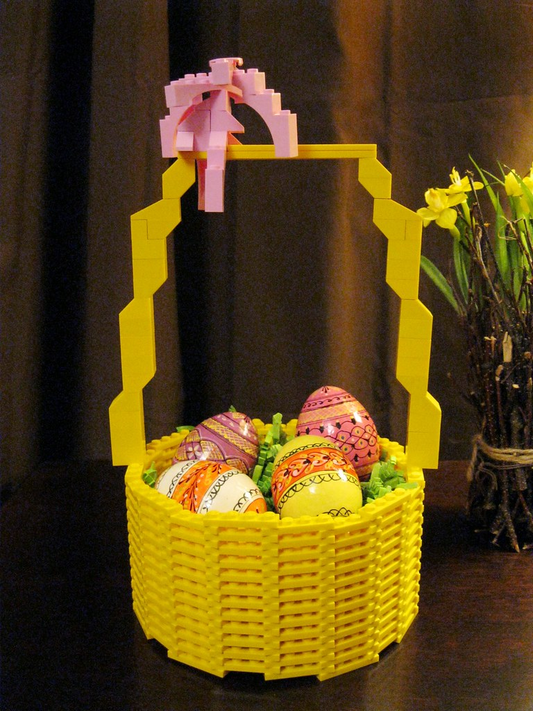 The worlds most recently posted photos of lego and straw flickr lego easter basket kdweezer tags lego spring easter basket eggs holiday toys inside negle Choice Image