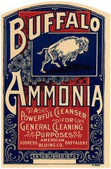Buffalo Ammonia Label (Alan Mays) Tags: ephemera labels ammonialabels advertising advertisements ads diecuts paper printed buffaloammonia ammonia cleansers cleaning buffaloes animals americanbluing americanbluingco companies manufacturers red blue borders illustrations curvedtext textonacurve buffalo ny newyork antique old vintage typefaces type typography fonts