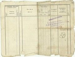 301 - Army Document (rev) (dezsokellner) Tags: army hungary 1915 kuk kellner trebinje dezso