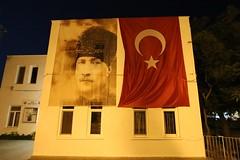 banners (mdoughty68) Tags: turkey evening turkiye banners bozcaada