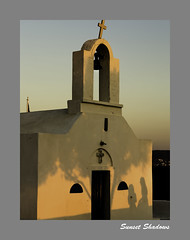 1849b  Sunset Shadows (foxxyg2) Tags: light sunset church aegean churches chapels greece greekislands cyclades naxos islandhopping agiaanna