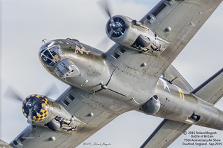 Close Encounter - with a Flying Fortress