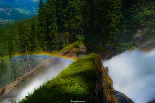 Krimmler Wasserfälle 2: Regenbogen