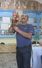 One Hundred Smiles - Puppeteer - Bukhara Uzbekistan (WanderingPJB) Tags: uzbekistan bukhara puppeteer puppet silkroad centralasia cmwdblue smilesonsaturday onehundredsmiles colourfulworld
