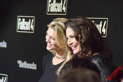 Kelly Rohrbach & Lynda Carter at the Launch Party for Fallout 4 #fallout #fallout4party #welcomehome - DSC_0255 (RedCarpetReport) Tags: pc gaming gamer celebrities launchparty redcarpet fallout zenimax welcomehome interviews bethesdasoftworks celebrityinterviews playstation4 fallout4 minglemediatv redcarpetreport xboxone fallout4party
