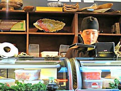 Akira Kishimoto (knightbefore_99) Tags: food fish japan bar vancouver sushi asian japanese raw counter cook chef izakaya commercialdrive eastvan kishimoto
