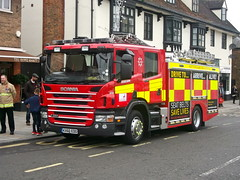 Scania P280 Fire Engine