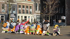 Students hazing, Delft (Alta alatis patent) Tags: students strange group delft witches hazing rituals