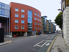 Red Curved Residential Building (Kombizz) Tags: uk building london architecture nw1 residentialbuilding regentsparkroad kombizz 1120890 redcurvedresidentialbuilding redcurved