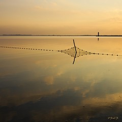 ...Filet de Pche...Carr (fredf34) Tags: light sky cloud mer france reflection nature sunrise soleil pentax natur sigma explore reflet ciel nuage paysage filet reflexion phare reflets ricoh contrejour calme carr leverdesoleil 1850 tang canaldumidi k3 languedocroussillon hrault pche thau bassindethau marseillan nuageux beautifulearth sigma1850f28 onglous fredf filetdepche cielnuageux tangdethau lesonglous pointedesonglous fredf34 pentaxk3 ricohpentaxk3 infinitexposure fredfu34 pharedesonglous