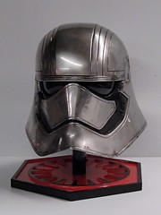 Finished Phasma Helm Front Left (thorssoli) Tags: starwars costume helmet replica armor stormtrooper prop tfa firstorder episode7 phasma episodevii ep7 chrometrooper forceawakens epvii captainphasma