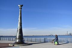 American Veterans Memorial Pier (mrhortonphotos) Tags: city nyc statue skyline liberty island pier memorial ellis manhattan 911 american jersey beacon veterans