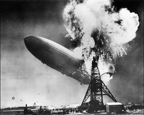 It's not this Hindenburg disaster we're thinking about., From FlickrPhotos