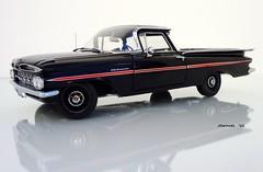 1959 Chevrolet El Camino Sport Pickup (JCarnutz) Tags: chevrolet elcamino 1959 diecast 124scale wcpd
