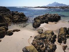 Omani coast near Hasik (Ondrej V.) Tags: sea seascape nature water rock landscape coast sand outdoor middleeast shore arabia oman rockformation dhofar hasik