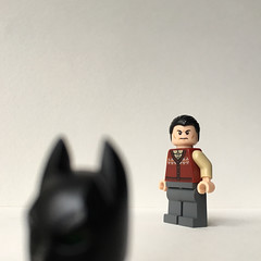 Off for Christmas, Happy Holiday folks!  (MAGIC ID) Tags: dc lego batman superheroes darkknight brucewayne