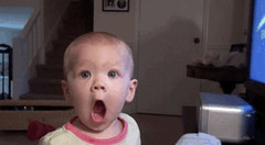 AFV Babies (messiole) Tags: wow babies magic whoa omg shocked afv ifttt giphy