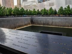 9/11 Memorial (Anthony's Olympus Adventures) Tags: newyorkcity newyork usa america travel memorial 911 2001 september11 september wtc twintowers
