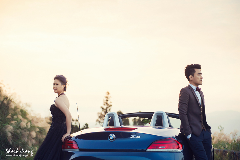 婚紗, 自主婚紗,自助婚紗,跑車婚紗,BMW婚紗,FIAT500C婚紗,山路婚紗