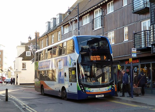 Stagecoach East Kent 15287 (YN16WWD) on the Triangle at Whitstable, Horsebridge - 25th November 2016