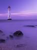 New Brighton Lighthouse. (dave.mcculley) Tags: newbrightonlighthouse water longexposure sky light rocks liverpool merseyside seaside