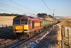 Longest Train, Shortest Day. (Dave McDigital) Tags: ews englishwelshscottish railway class60 60 tug 60025 6s36 petroleum tanks