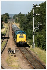 """55019 (D9019) """"ROYAL HIGHLAND FUSILIER"""" (elr37418) Tags: 55019 d9019 royalhighlandfusilier uk great central railway deltic english electric quorn woodhouse canon 400d heritage talisman"""