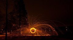 Ring of Fire (pepe50) Tags: johnnycash mars martian campogalliano cave 2017 night pepe50 fun travel party leisure canon ufo alien italy red light painting lightpainting 450d paint longexposure circle fire woolsteel canon450d emiliaromagna notte flickr lamp fiamme body lux fiatlux lake trail funny nature dark sky flare woman scintille tree water acqua blu beanch panchina