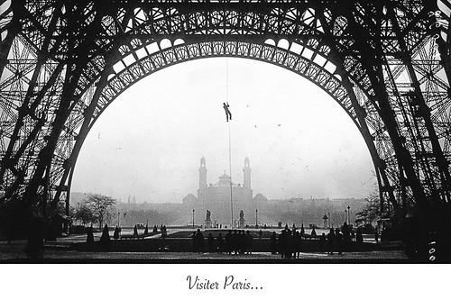 16-Carte postale // 10x15cm // Visiter Paris