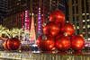 Christmas Ornaments NYC (Jerry Fornarotto) Tags: celebration christmas christmaslights city citylights colorful cr2017 decorated decoration decorations decorative electric evening giant happy holiday holidays illuminated jerryfornarotto light lights magical manhattan merry newyorkcity night ny ornament ornaments outdoors parkavenue red season shiny sparkling sphere spirit street style traditional urban water winter xmas