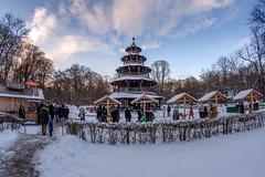 Chinese Tower at English Garden, Munich (Toro Kuswan) Tags: chinesetower munich germany deutschland nikon nikonphotography widephotography walimex bayern bavaria