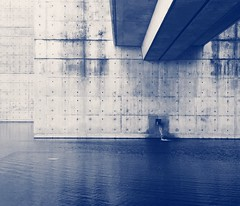 Monochrome Architecture Built Structure Outdoors Water Flowing Water Pool Concrete Wall Modern Architecture Simple Photography Tranquility Bridge - Man Made Structure Grid Rippled Park - Man Made Space Lines Exterior Design Wall - Building Feature Dots (Eugene Kong) Tags: monochrome architecture builtstructure outdoors water flowingwater pool concretewall modernarchitecture simplephotography tranquility bridgemanmadestructure grid rippled parkmanmadespace lines exteriordesign wallbuildingfeature dots