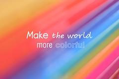 Make the World (luenreta) Tags: crazytuesday 7dwf maketheworldmorecolorful color colorful books