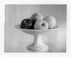 coupe avec fruits (JJ_REY) Tags: coupe fruits naturemorte stilllife bw largeformat 4x5 polaroid pn55 toyofield 45a rodenstock sironarn 150mmf56 epsonv800 colmar alsace france cup