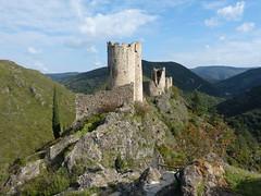 Lastours, Régine és Cabaret (ossian71) Tags: franciaország france lastours vár castle épület building műemlék sightseeing középkori medieval várrom rom ruin