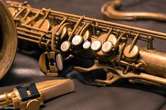 This is my sax! (r.antonitsch) Tags: gold holzblasinstrument instrument jazz keys mpc matt mouthpiece mundstück musik potpourri saxofon saxophone tasten vintage woodwind