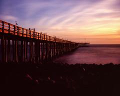 Ventura Pier II (Blurmageddon) Tags: film analogphotography largeformat 4x5 fujichrome fuji velvia100 epsonv700