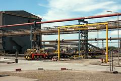 Concast Shunt (Kingmoor Klickr) Tags: corus scunthorpe steelworks concast janus yorkshireengine 2690 industrialrailway industry