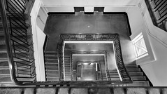 sentimetrical (Keith Midson) Tags: stairs staircase steps stairwell stair melbourne mailexchange heritage building architecture
